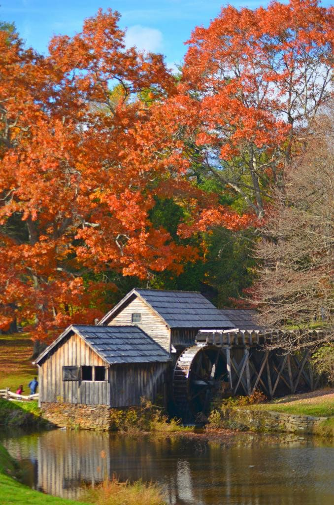 Fall At Marby Mill