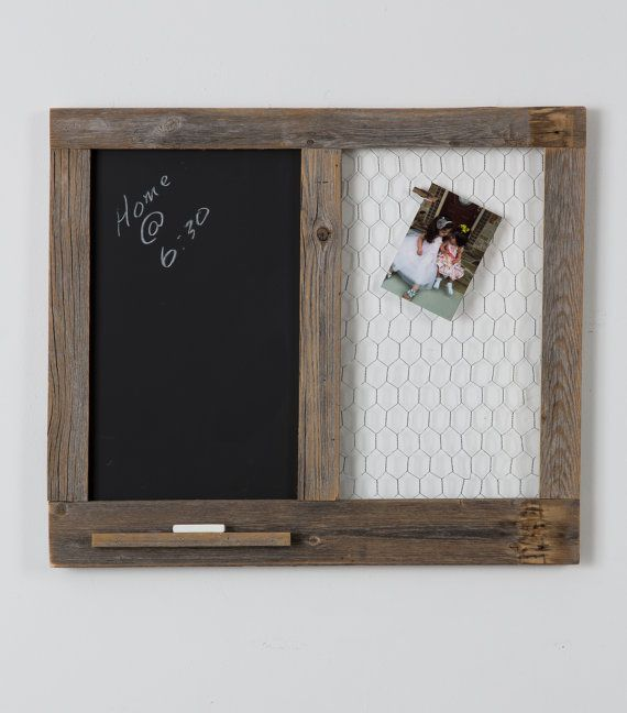 Message Center with Chalkboard and Chicken by DrakestoneDesigns