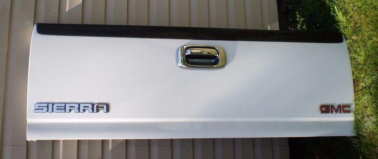 99 07 00 01 02 03 04 05 SILVERADO GMC SIERRA TAILGATE TAIL GATE OEM WHITE CHEVY #GM