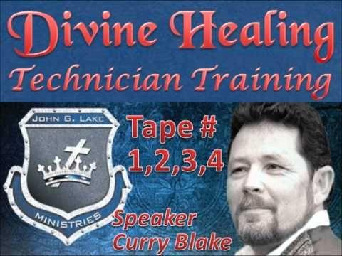 Divine Healing Technician Training, Tape 1/2/3/4 John G Lake Ministries