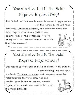Tomorrow is our Polar Express Pajama Day and I am super excited! I bought my team pajamas for the big day and made this cute little note to ...