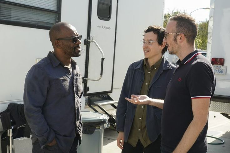 New Pics and Video of Lennie James on the Set of Fear the Walking Dead