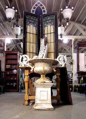 Architectural salvage warehouses and old stuff on pinterest for Home architectural salvage yards