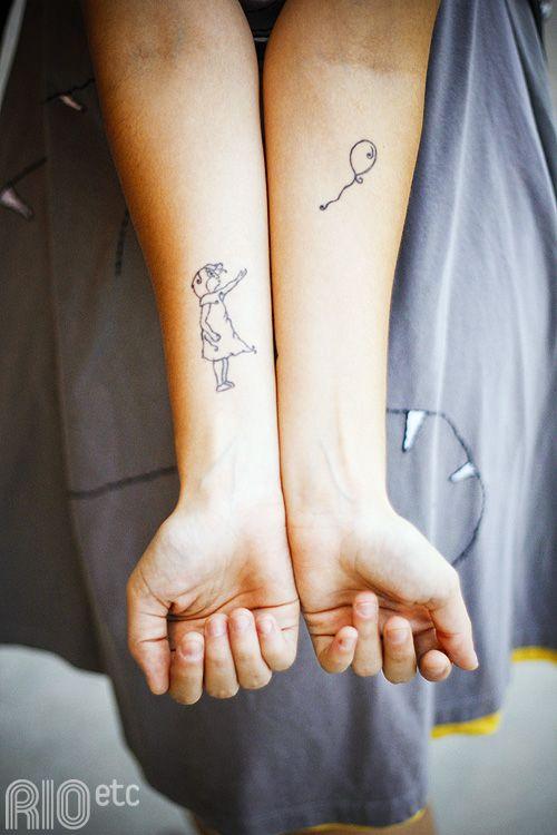 Balloon tattoo @ING Metz is dit niet van die illustraties??