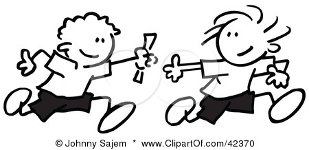 Relay Race Clip Art Car Interior Design