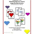 Valentine Fun! Matching Memory Game Juego de Memorama (Wheh-go/deh/Mem-ohrr-ah-mah) This is the perfect small group activity to use on an often hec...