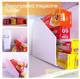 Bello Alito (Beautiful Breath): Organised pantry - food wrap