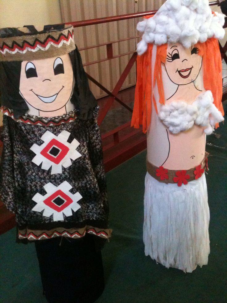 Mapuche y Pascuense