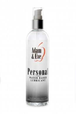 Adam and Eve Personal Lubricant Water Based Liquid 8 ounces bottle. Slippery and…
