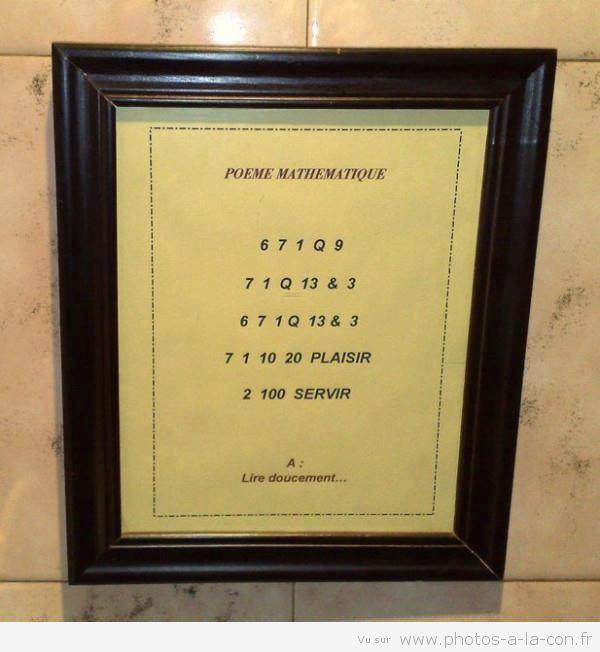 Photo drôle | Le poème du jour à lire très doucement :)Photos à la con