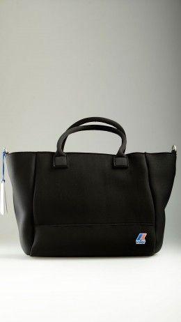 K-sea black neoprene shopper