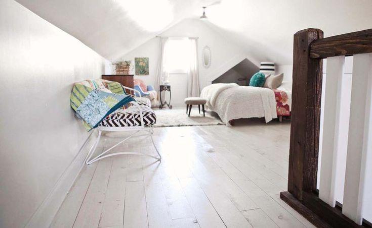 Chambre à coucher - blanc et épuré