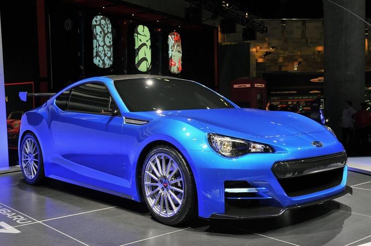 Subaru BRZ Concept STI осталась без турбонаддува