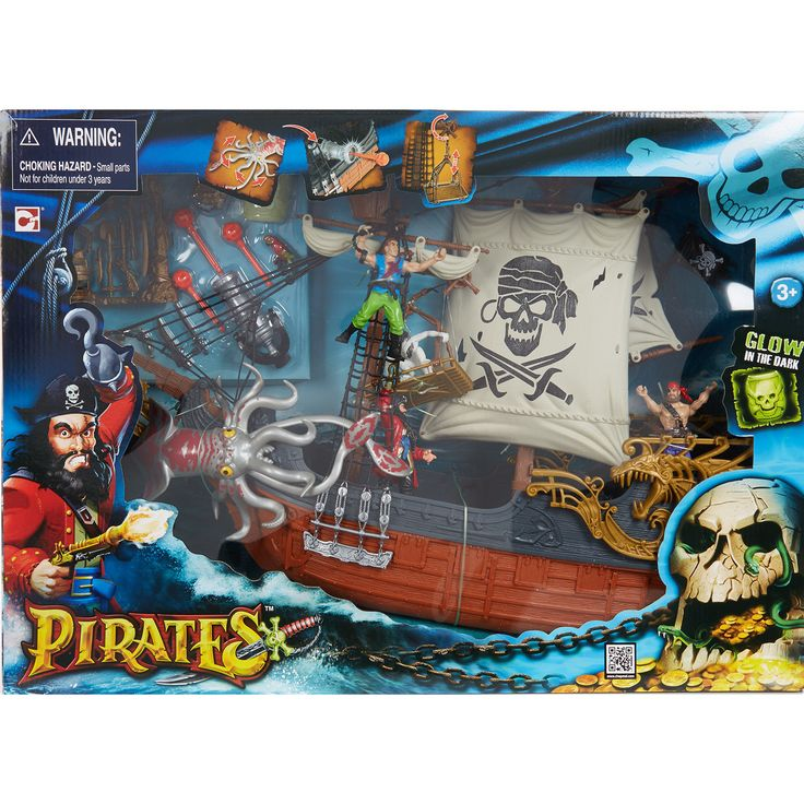 Quot Chap Mei Quot Deluxe Pirate Ship Playset Tk Maxx Toys