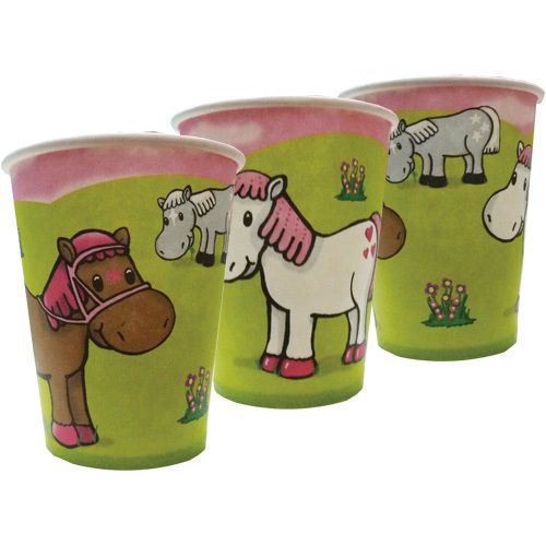 Little pony or horse Party theme Cups - Pack of 8 | eBay