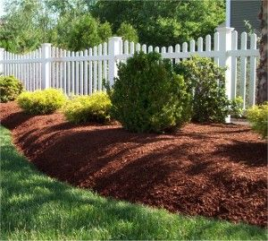 Our mulch is produced from clean forest waste, with no dyes or any tip waste content at all. Buy 100% organic mulch at: