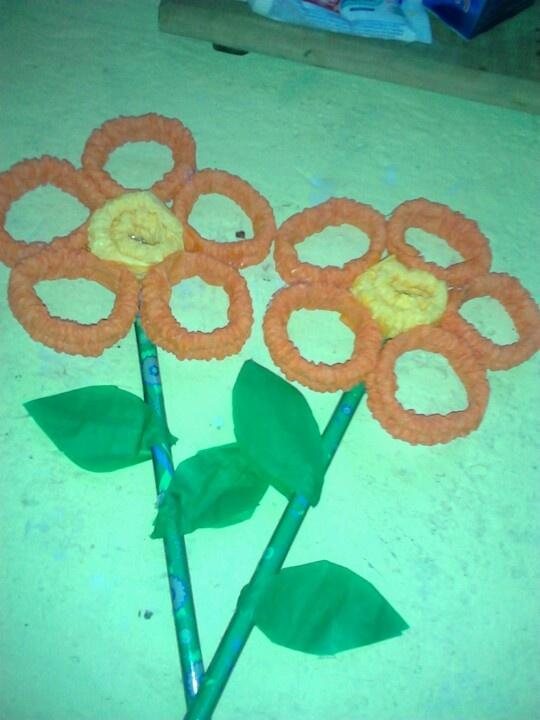 Floresitas de papel