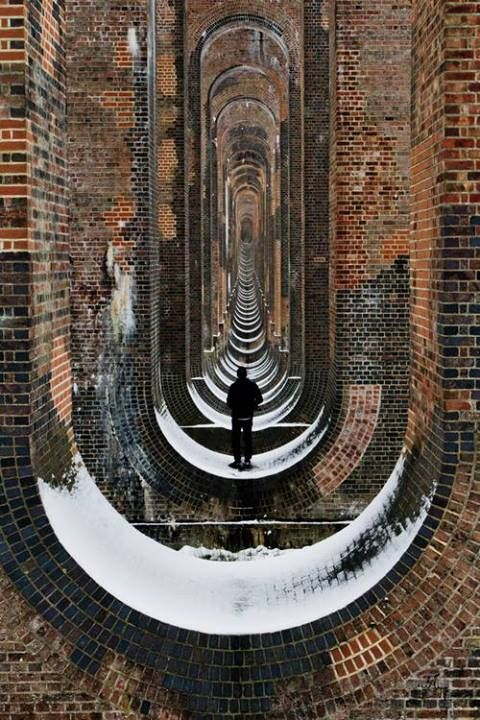 Balcombe Viaduct, West Sussex, England by Matthew Coleman