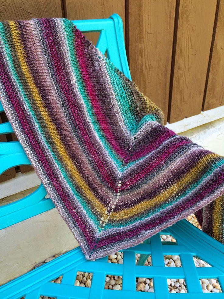 Zoe shawl
