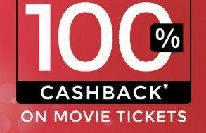 Paytm  Get 100% Cashback on Movie Tickets