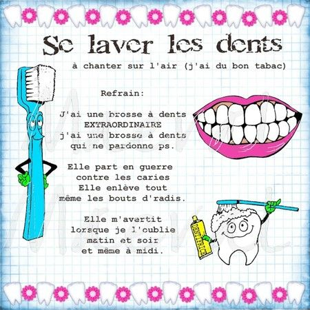 se laver les dents                                                       …