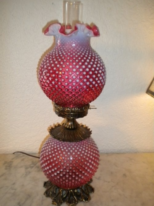 839 best GWTW lamps, FENTON glass and more... images on Pinterest ...