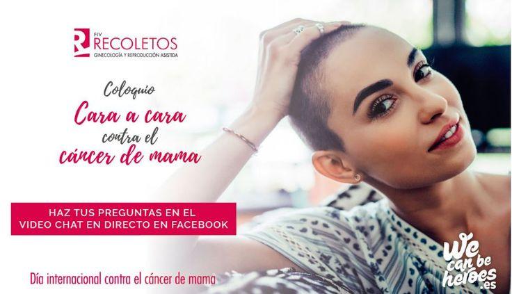 RECUERDA 📢📢 HOY a las 16.30 🕟 retransmitimos EN DIRECTO el Coloquio 'Cara a cara con el #CáncerdeMama PARTICIPA en tiempo real y resuelve tus dudas con las doctoras [Gloria Costa] y [Zandra Soto], la fundadora de We Can be Heroes, [Ana del Fraile], y la psicóloga [Natalia García] #DíaMundialdelCáncerdeMama #DíaContraelCáncerdeMama #SúmatealRosa