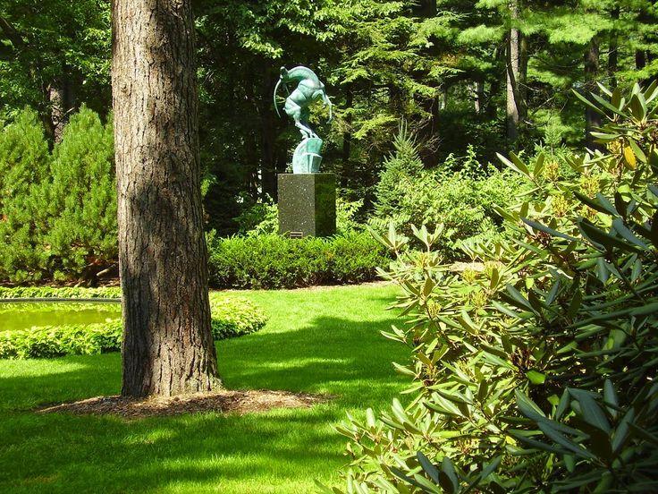 MI Garden History Dow Gardens Midland MI Garden