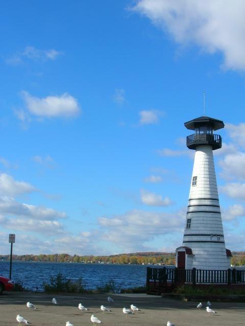 Chautauqua Lake Lighthouse, Jamestown, NY, USA