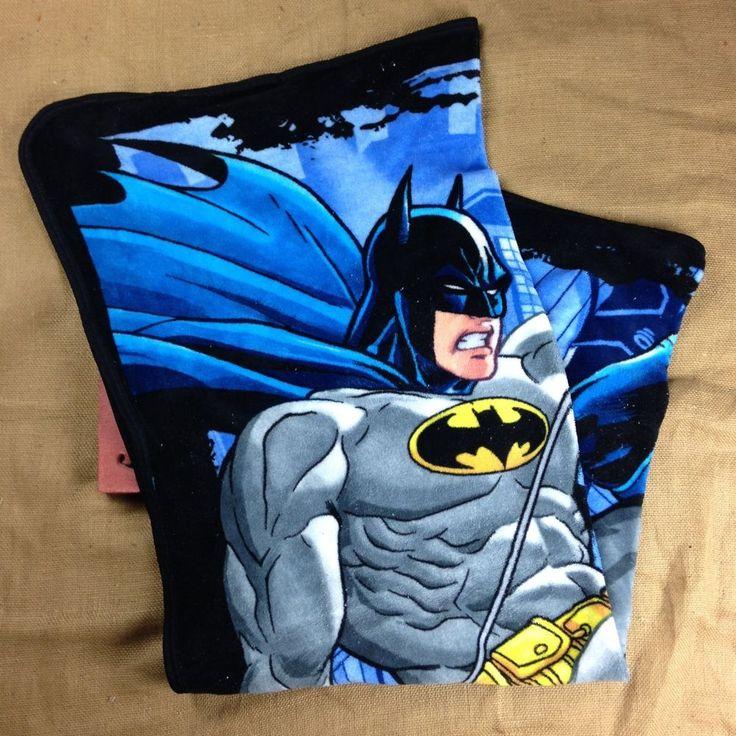Batman Gotham Nights Fleece Throw Lap Blanket Boys Girls  Black Blue Soft  #Unbranded