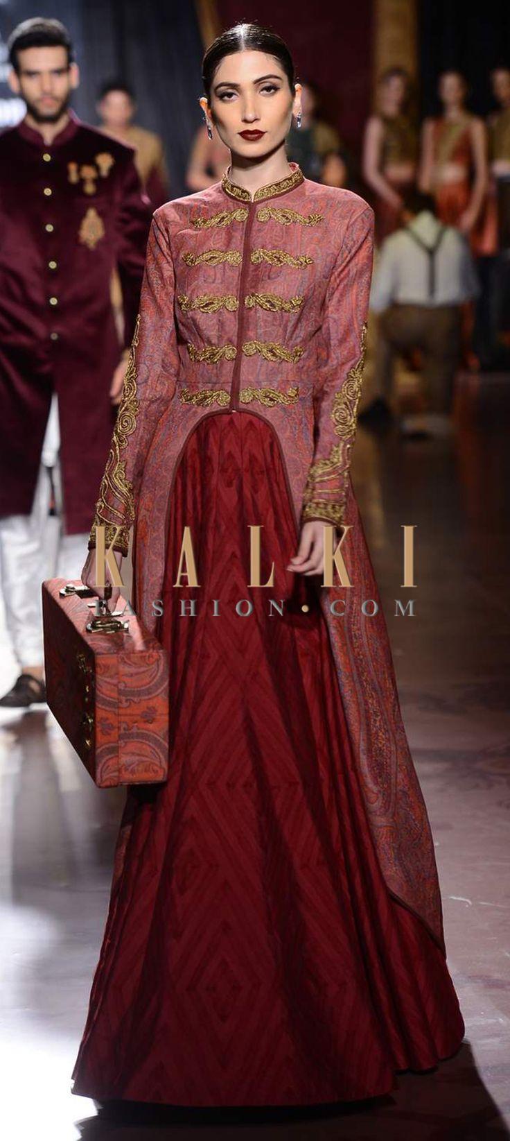 Click on the following link - http://www.kalkifashion.com/designers/harpreet-narula.html