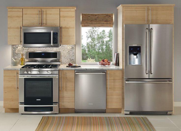 <h3>Ваши бытовые приборы устарели</h3><p>Ваша плита, холодильник, посудомоечная машина занимают львиную долю пространства всей кухни, поэтому в них вы должны быть уверены, как в самом себе. В плане дизайна: независимо от стиля вашей кухни, выигрышными всегда останутся модели из нержавеющей стали.</p>