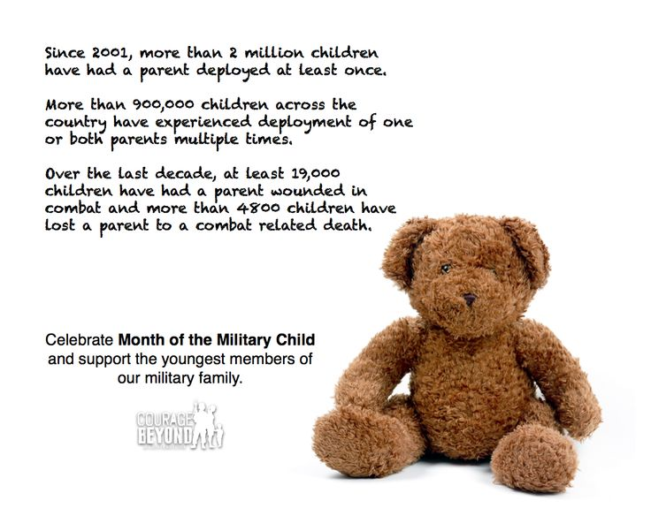 24 best images about Month of the Military Child on ...