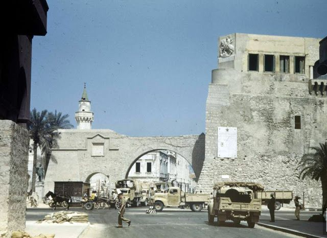 Color Photos of Tunisia and Libya in the North African Campaign of World War II, 1943