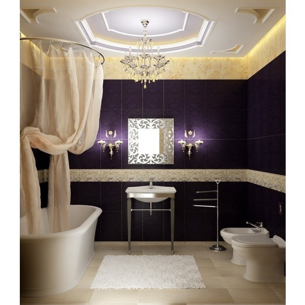 12 best images about daughter apartment ideas on pinterest for Blue and purple bathroom ideas