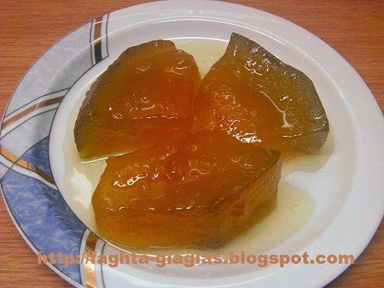 Πεπόνι γλυκό του κουταλιού - Τα φαγητά της γιαγιάς
