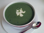 Cream of Spinach Soup (dairy-free) ~ About.com Dairy Free Cooking