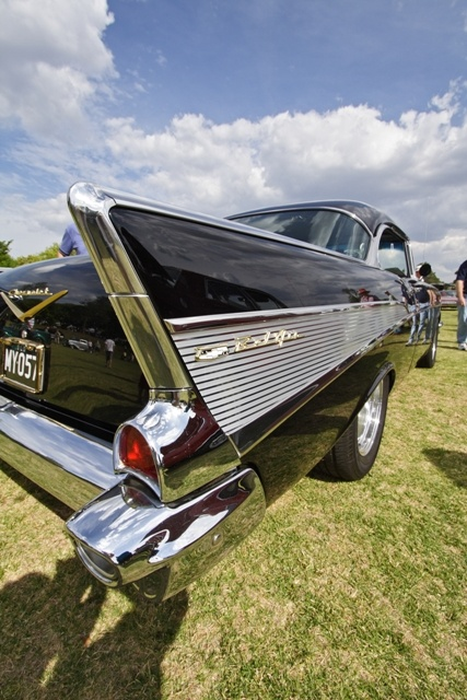 Classic Cars on display at Toowoomba Carnival of Flowers