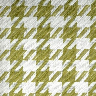 Green houndstooth