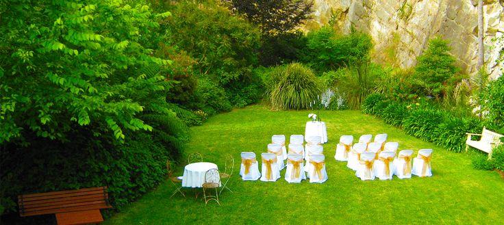Stirling Secret Garden. Can also host reception