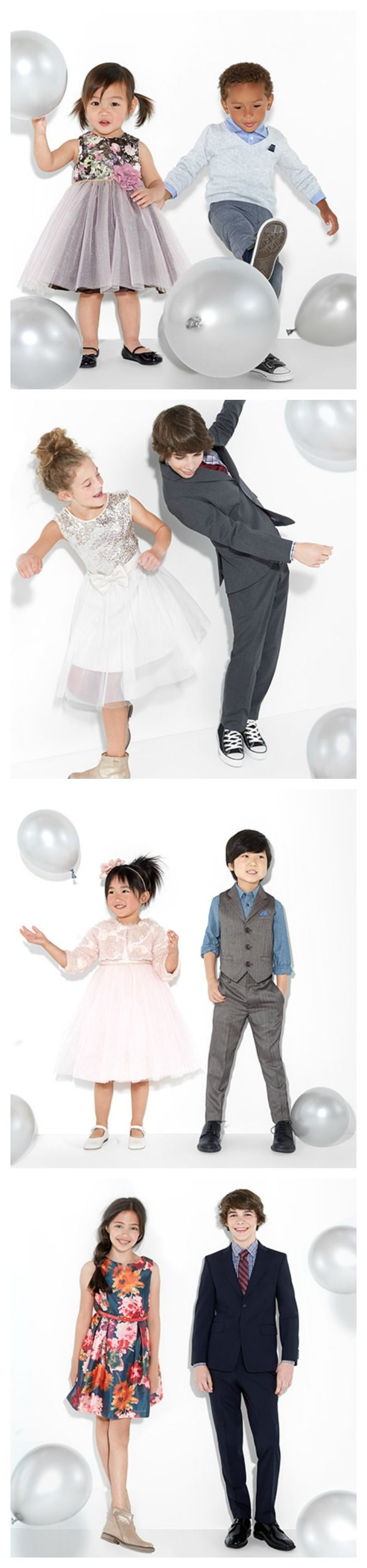 How to dress your kids for a special occasion.