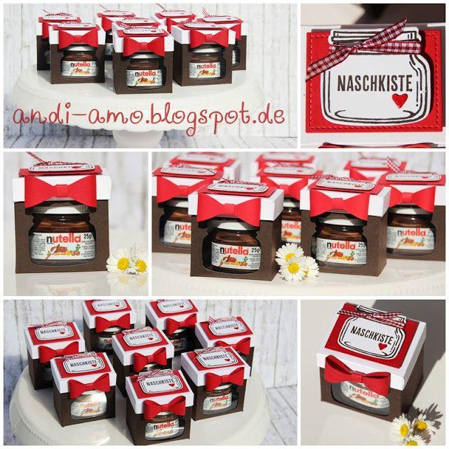 andi-amo: Nutella in der Box Frameilits Einweckgläser für alle Fälle, Glasklare Grüße