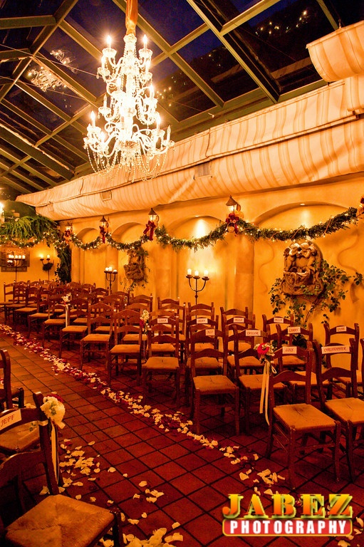 Where Ken and I Got Married - They Didn't Have the Glassed Cieling Back Then - We Were One of the Last 2 Have Open Air - Il Cielo Restaurant - Beverly Hills weddings