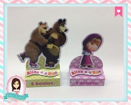 Porta Bis Duplo - Masha e o Urso
