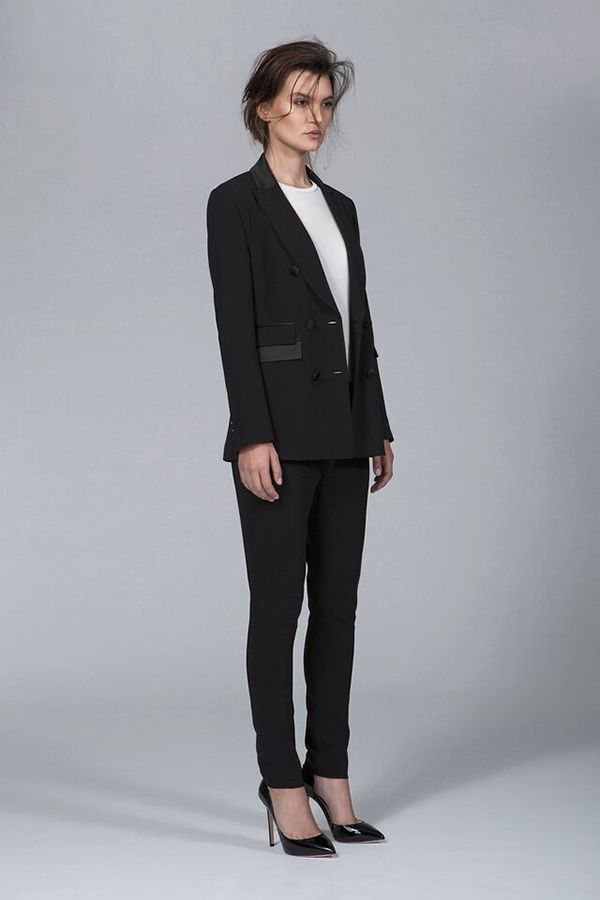 Ty-lr - The Situation Cigarette Trouser - Black