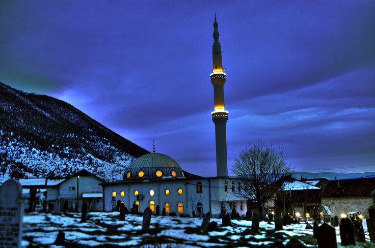Mosque in Forino, Gostivar Municipality, Macedonia
