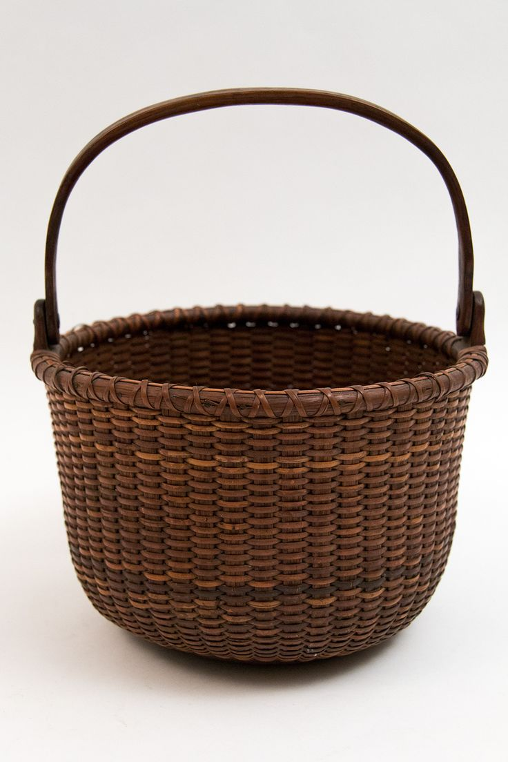 Original Antique Nantucket Lightship Basket