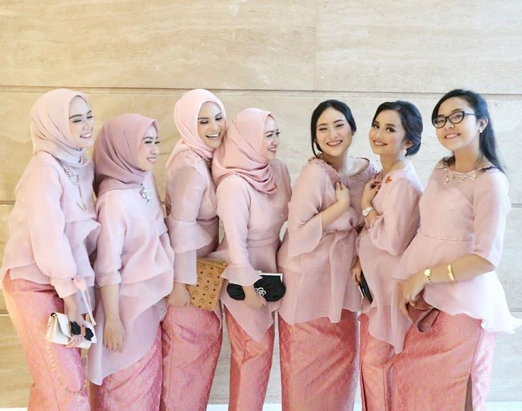 Hijab Bridesmaids Inspiration   @terosha