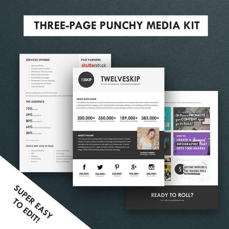16 best dj press kit and dj resume templates images on for Dj press kit template free
