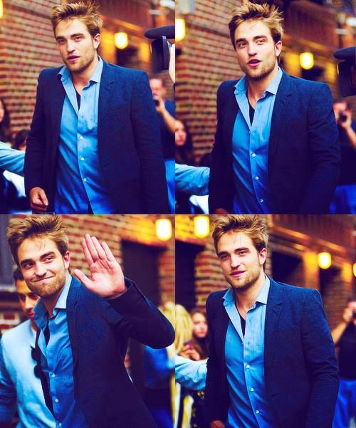 ♥♥ Rob in blue